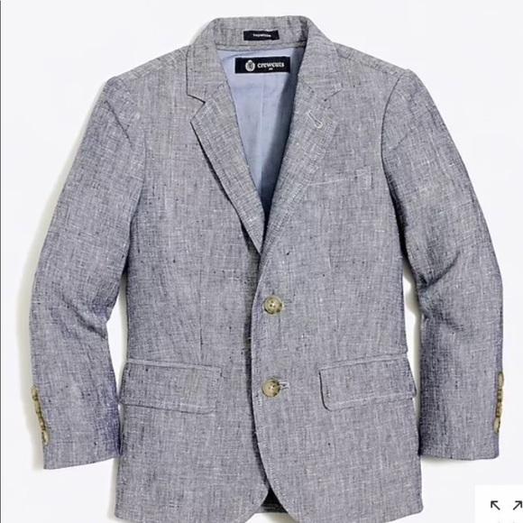 J. Crew Other - J Crew Boys Size 2 Thompson Suit Set linen NWT